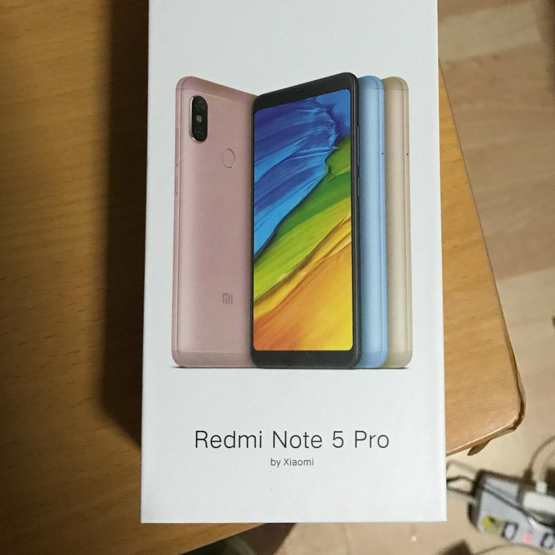 Redmi Note 5 Pro- Black (4GB RAM/64GB ROM), Mobile Phones