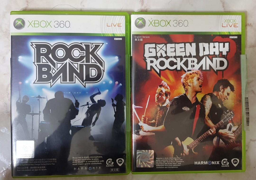 Rockband Game, Guitar, Drums & Mic Bundle