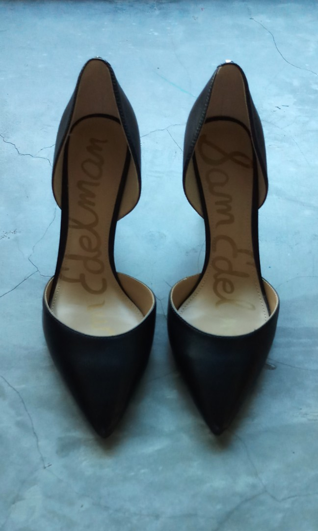 77eb7bcbe Sam Edelman Telsa D orsay Black Heels