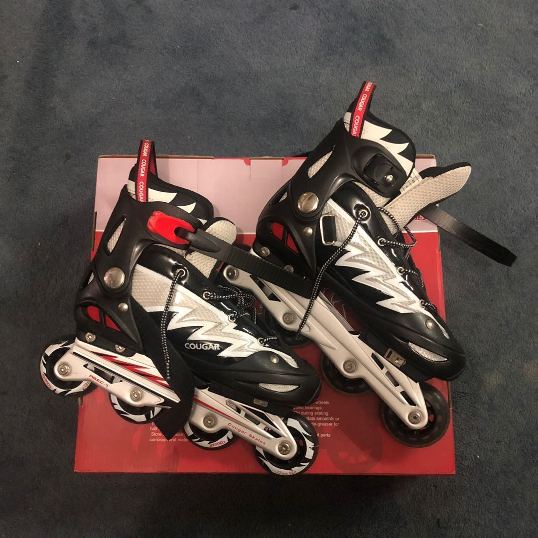 Sepatu Roda   Inline Skates Cougar Black 3221bd348e