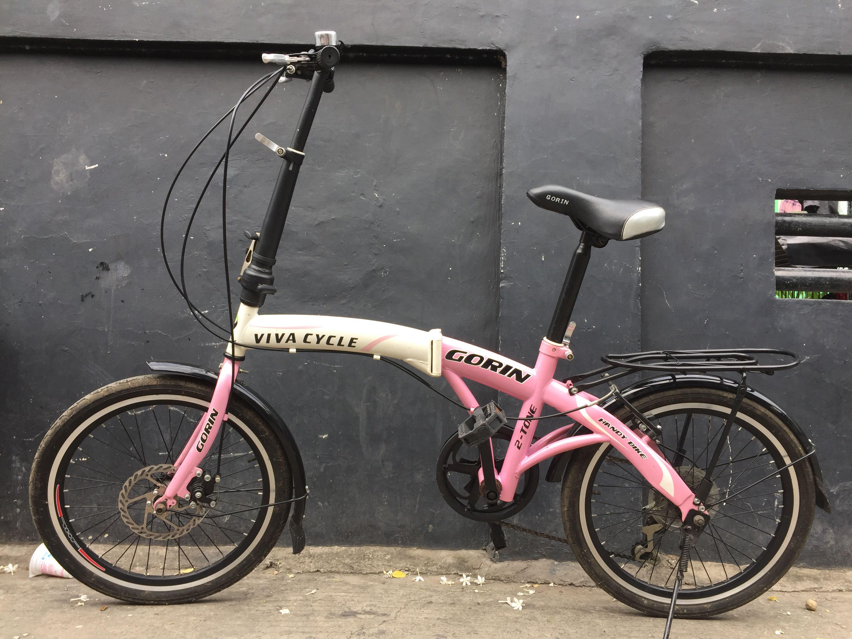 Sepeda Lipat Ukuran 20 Mulus Olah Raga Sepeda Di Carousell
