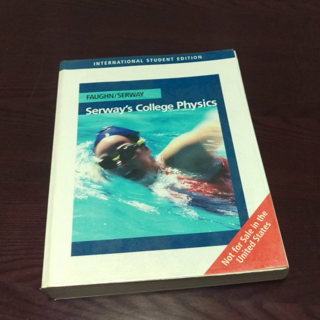 Serway's College Physics (7th ed), textbook and student solutions manual,  Books & Stationery, Textbooks, Tertiary on Carousell