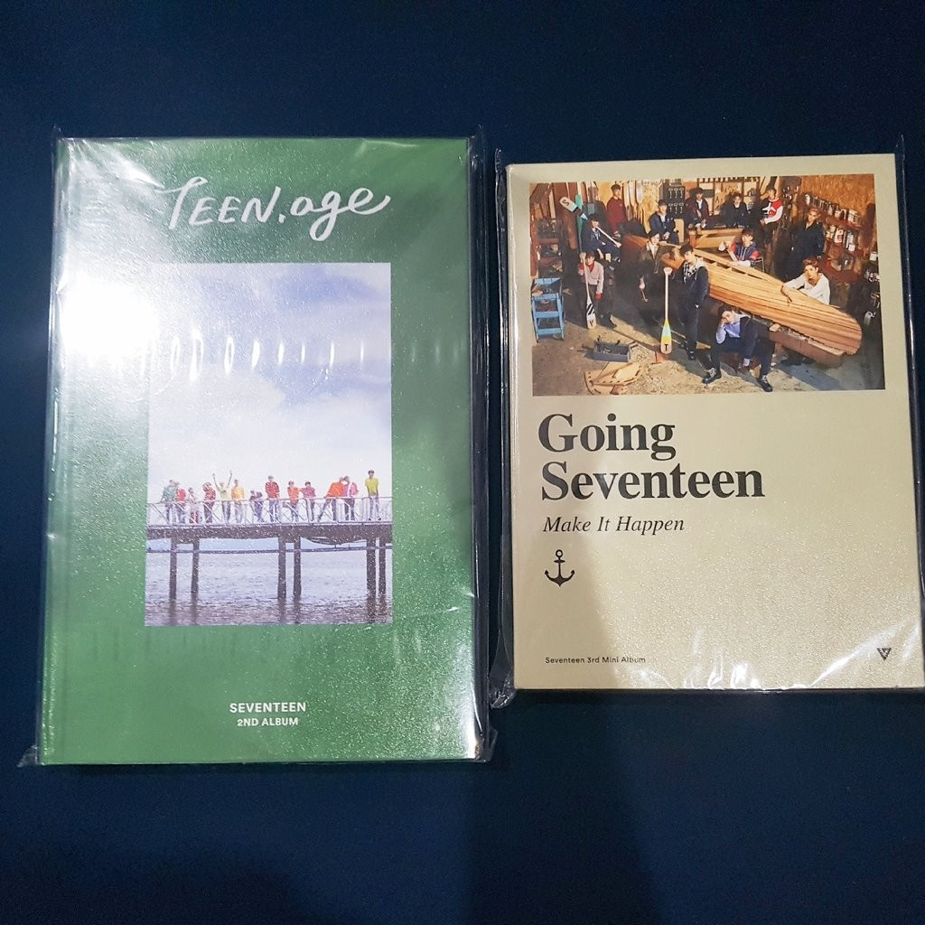 Seventeen Official Albums K Wave On Carousell Teen Age 2nd Album