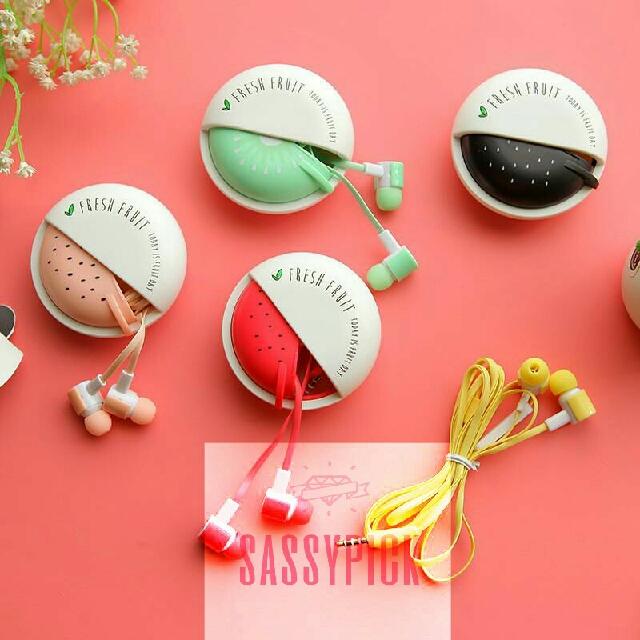 Sibyl Fruit Candy Earphones