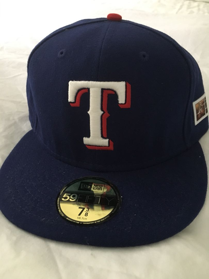 the best attitude 685bd e111d Texas Rangers New Era 59fifty cap size 7 3 8, Men s Fashion ...
