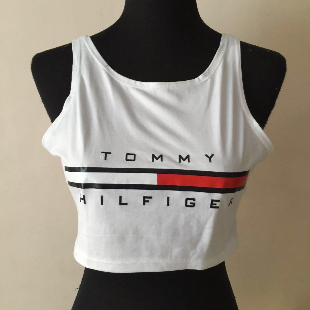 2143a2e1bc085 Tommy Hilfiger Crop Top