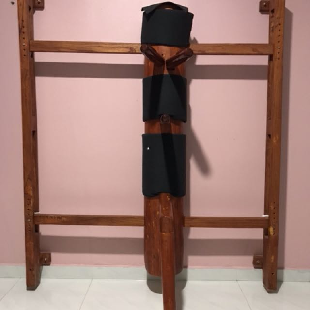 Traditional Wing Chun wooden dummy for sale!