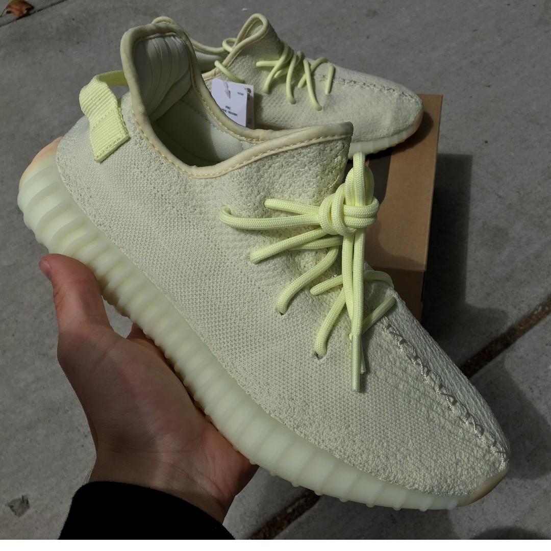 best website 6da62 b1cfd Yeezy 350 V2 Butter US9.5 10 500 adidas kanye west blush zebra cream white  beluga ultra boost OG off white the ten