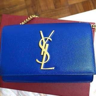 YSL 閃電藍 細袋