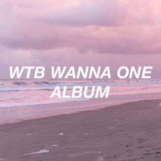 WTB Wanna One Undivided Album