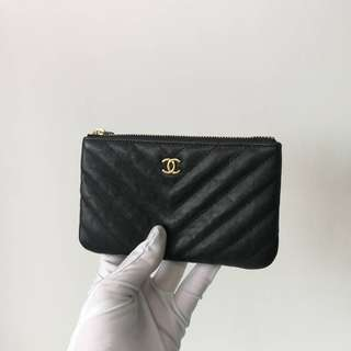 Authentic Chanel Mini O Case