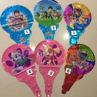 🚚 $0.80 Handheld Balloons