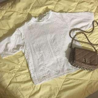 white bangkok top