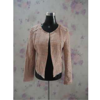Love Bonito Tweed Blazer Jacket