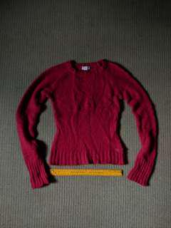 Red sweater from American Eagle Outfitters REPRICED RUSH SALE