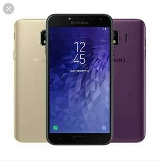 Kredit Samsung J4 Dp.330 tanpa CC