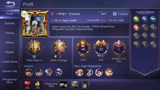 Akun Mobile Legend