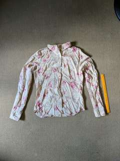 Floral long sleeve blouse from American Eagle Outfitters