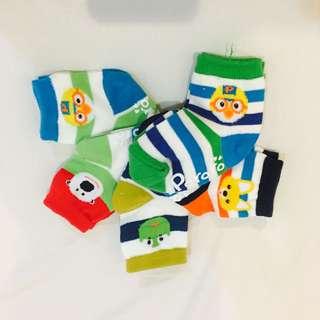 Pororo Baby Boy Socks 5in1