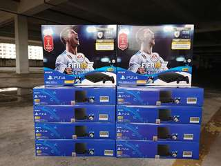 <WTS>[new unit & sealed] Sony PS4 Fifa 18 Bundle (ready stocks)