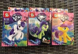 BN Little Pony mini blocks