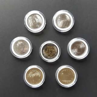 Coin Capsules 34mm with foam