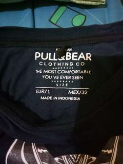 Kaos pull and bear oryginal