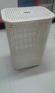 Laundry Basket w/ Top Cover