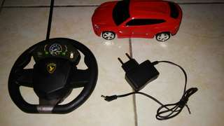 Remote control red car