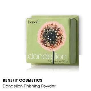 Dandelion - Benefit
