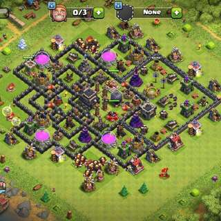 Clash of clan Th 9