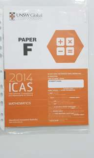 ICAS 2014 MATHEMATICS PAPER F FOR SECONDARY 1