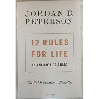 🚚 12 Rules for Life: An Antidote to Chaos (FREE DELIVERY)