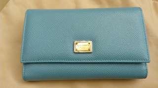 DG 粉藍-中size wallet