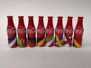 Coca Cola法國2016年世界杯迷你鉛瓶