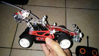 Meccano RC buggy remote control