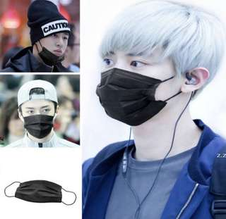 Black Mask 5pcs for RM10 (READY STOCK)
