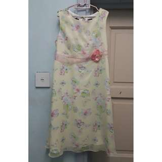 BASIC EDITIONS dress 7-8y