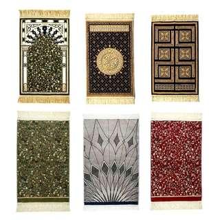 Varieties Of Madina Munawwarah Prayer Rugs! 💕