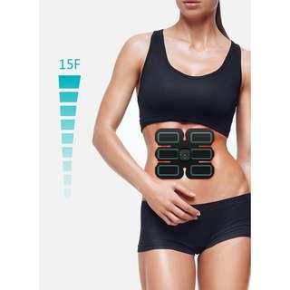 健體塑身及腹肌神器 智能EMS脈衝腹肌貼按摩器 Body sculpting and abdominal muscle artifact Intelligent EMS pulse ABS massager