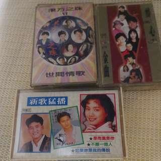3 cassette 流行歌
