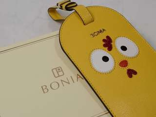 Bonia Dudu Luggage Tag/ Badge Holder