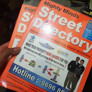 🚚 2018 Singapore Street Directory Map