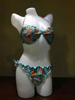 Floral Two piece Swimwear