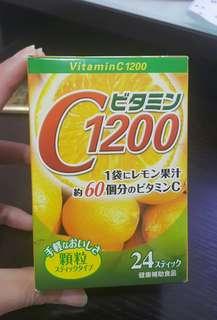 C1200 日本健康飲品 VitaminC 1200