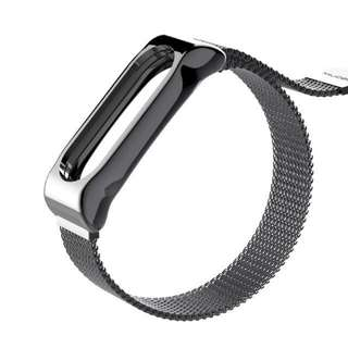 Xiaomi Mi Band 2 Strap - Magnetic Buckle Metal Strap