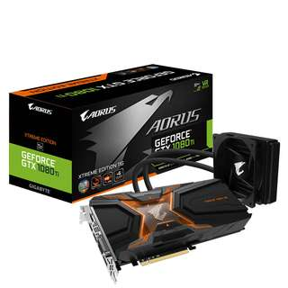🚚 AORUS GeForce® GTX 1080 Ti Waterforce Xtreme Edition 11G