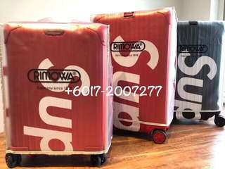 Supreme x Rimowa Luggage