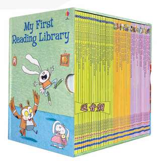USBORNE FIRST READING LIBRARY 50 books (FREE DELIVERY)