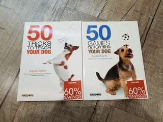 Dog Books 50 Games to Play with Your Dog